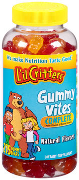 L'il Critters™ Gummy Vites™ Complete Dietary Supplement Gummy Bears 275 ct Bottle