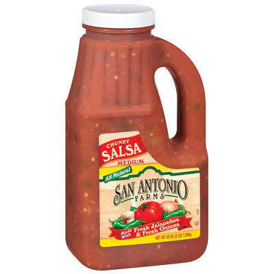 San Antonio Farms Chunky Medium Salsa 48 Oz Jug