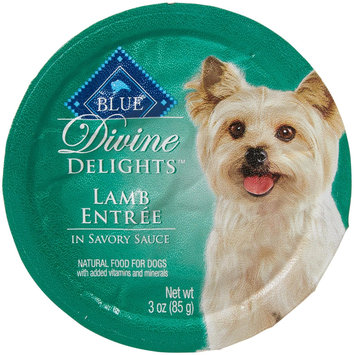THE BLUE BUFFALO CO. BLUE™ Divine Delights® Lamb Entrée in Sauce Wet Dog Food