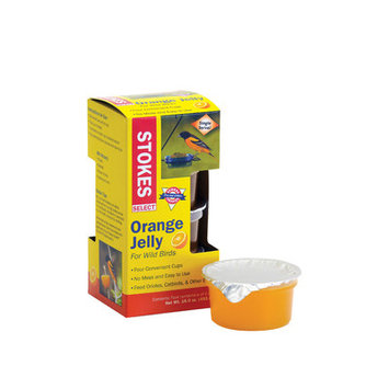 Stokes Select 4Oz Orange Jelly Cups 4/Pack (38501)