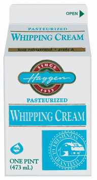 Haggen Grade A Whipping Cream