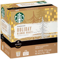 STARBUCKS® Holiday Blonde Roast 2014 K-Cups®