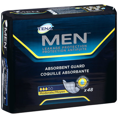 Tena® Men™ Moderate Leakage Protection Absorbent Guard 48 ct Pack