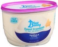 Blue Bunny Sweet Freedom Fat Free No Sugar Added Vanilla Flavored