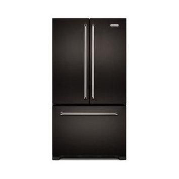 KitchenAid KRFC302EBS 21.9 Cu. Ft. Black French Door Refrigerator