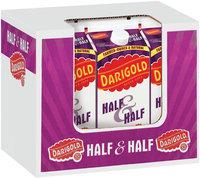 Darigold Half Gallon Half & Half 6 Pk Corrugated Display