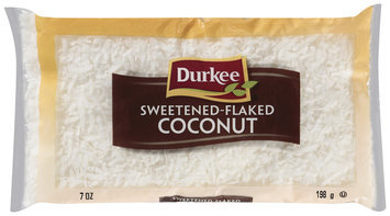 Durkee Sweetened Flaked Cocnunt 7 Oz Bag