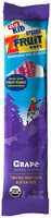 CLIF Kid® ZFruit Grape Twisted Fruit Rope 0.7 oz. Wrapper