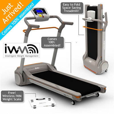 Cam Consumer Products, Inc. Yowza Fitness LIDO Treadmill Beige and Gray 50