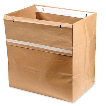 Swingline 1765021 Shredder Bags Recyclable 50/BX Brown
