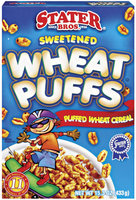 Stater Bros. Wheat Puffs Cereal 15.3 Oz Box