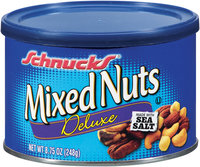 Schnucks® Deluxe Mixed Nuts 8.75 oz Canister