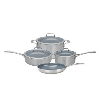 Zwilling J.A. Henckels Spirit 7-Piece Cooking Set Ceramic Non-Stick