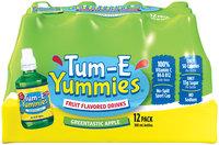 Tum-E Yummies Greentastic Apple Fruit Flavored Drink 12-10.1 fl. oz. Plastic Bottles