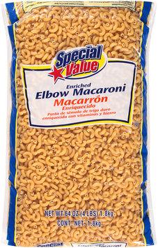 Special Value® Enriched Elbow Macaroni 64 oz. Bag