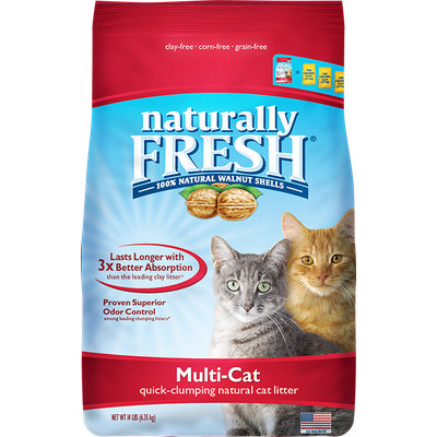 Naturally Fresh Multi-Cat Clumping Litter 440