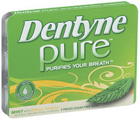 Dentyne Pure Mint W/Melon Accents Sugar Free Gum