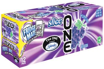 Slice® One™ Diet Grape Soda 12 Pack 12 fl. oz. Cans