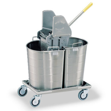 Royce Rolls Tapered Double Tank Mopping Unit Tank Capacity: 9 gal