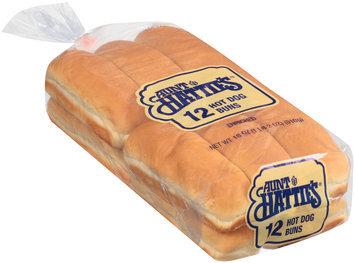 Aunt Hattie's® Enriched Hot Dog Buns 12 ct Bag