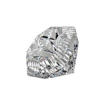 Waterford 156497 Lismore Paperweight- Diamond Shape