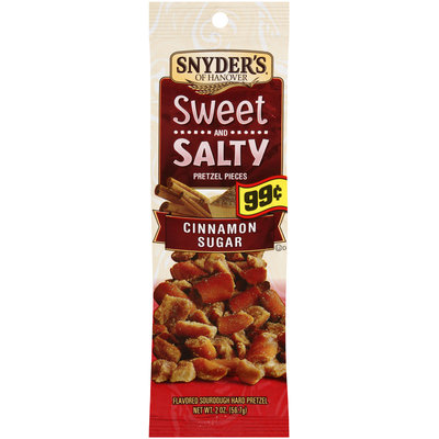 Snyder's Of Hanover Cinnamon Sugar Pretzel Pieces