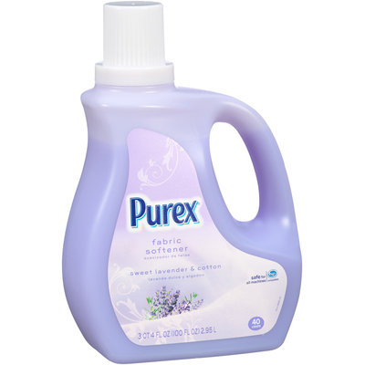 Purex® Fabric Softener Sweet Lavender & Cotton 40 Loads Fabric Softener 100 fl. oz. Plastic Jug