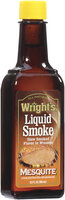 Wright's Mesquite Concentrated Seasoning Liquid Smoke  3.5 Oz Glass Bottle