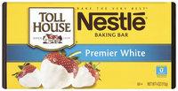 Nestlé TOLL HOUSE Premier White Chocolate Baking Bar 4 oz. Bar
