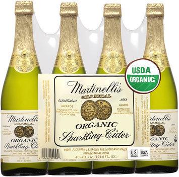 Martinelli's Gold Medal Organic Sparkling Cider 4-25.4 fl. oz. Bottles