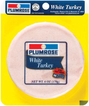 Plumrose Turkey Peg Sliced Turkey 6 Oz Peg