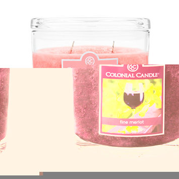 Fragranced in-line Container CC022.1234 22oz. Oval Fresh Strawberry Rhubarb Candles
