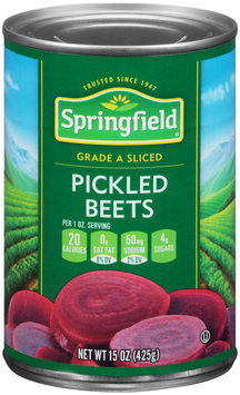 Springfield® Pickled Sliced Beets 15 oz. Can