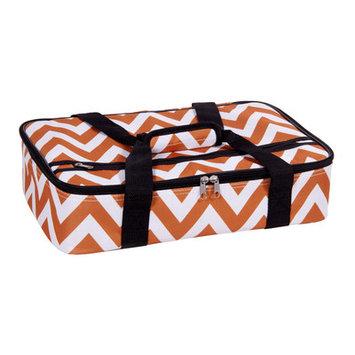 Home Essentials And Beyond Rectangular Casserole Cover Color: Orange