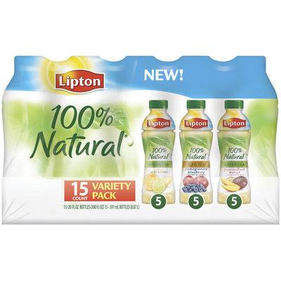 Lipton® 100% Natural Iced Tea Variety Pack 15 Pack 20 fl. oz. Plastic Bottles