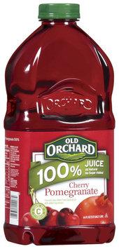 Old Orchard 100% Juice Cherry Pomegranate Juice 64 Oz Plastic Bottle