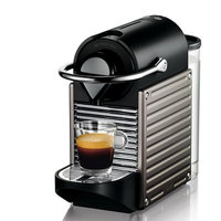 Nespresso Pixie Electric Titan Espresso Machine - C60TI