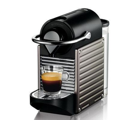 Nespresso Pixie Electric Titan Espresso Machine - C60TI