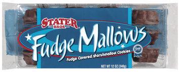 Stater Bros. Fudge Mallows Cookies 12 Oz Tray