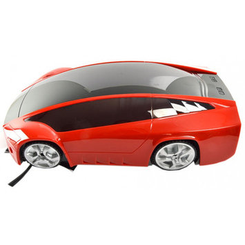 Infinuvo Car Shaped Robotic Vacuum Color: Red