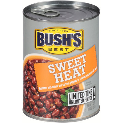 Bush's Best® Sweet Heat Baked Beans 22 oz. Pull-Top Can