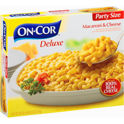 On-Cor® Deluxe Macaroni & Cheese Party Size 76 oz. Box