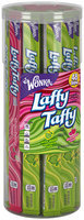 LAFFY TAFFY Sour Apple & Strawberry Ropes 2.43 lb. Canister