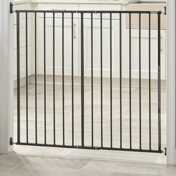 Storkcraft Easy Walk-Thru Metal Safety Gate Finish: Black