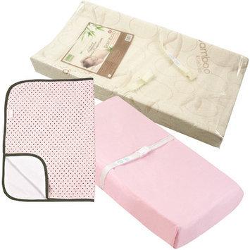 Kushies Baby Change Pad Set Color: Pink