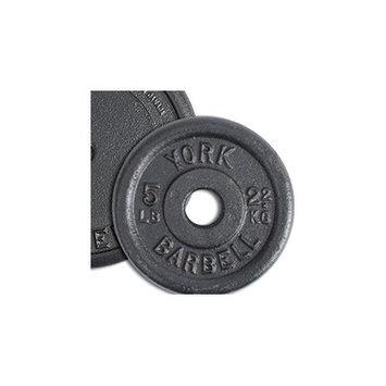 York Barbell Contour Cast Iron Plate Weight: 50 lbs