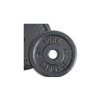 York Barbell Contour Cast Iron Plate Weight: 50 lbs