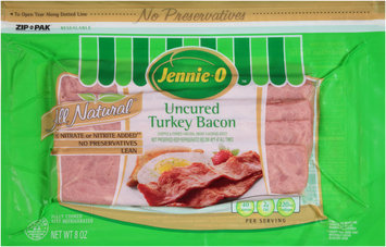 Jennie-O™ Uncured Turkey Bacon 8 oz. Pack