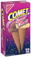 Nabisco Comet 12 Ct Sugar Cones 5.25 Oz Box