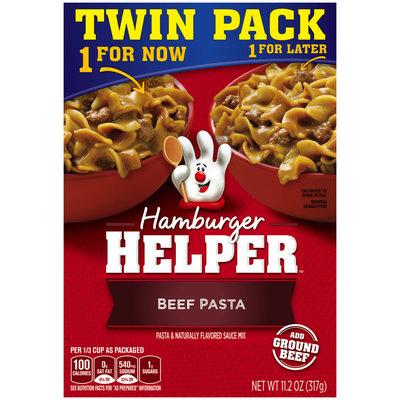 Betty Crocker® Beef Pasta Hamburger Helper® Twin Pack 11.2 oz. Box